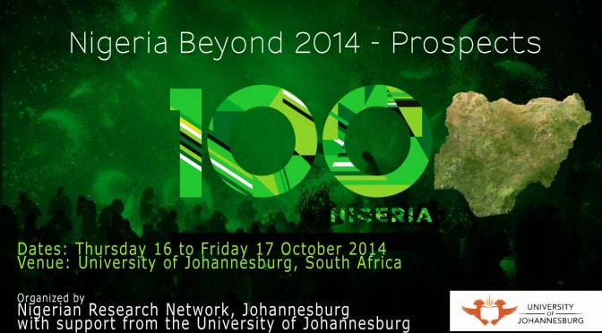 """NIGERIA BEYOND 2014: Prospects"" International Conference Programme"