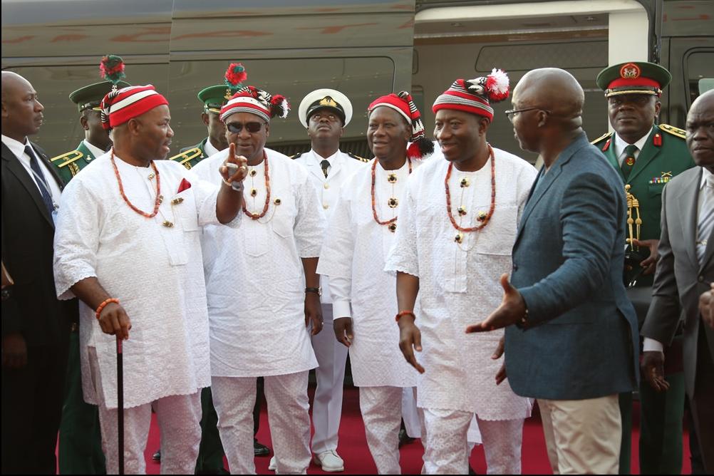 2014-11-10 03_30_10-L-R. Governor Godswill Obot Akpabio of Akwa Ibom State, President John Dramani M