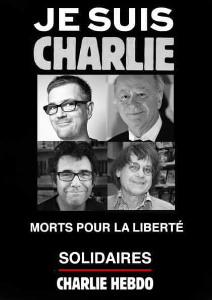 Editors of the satirical French newspaper Charlie Hebdo