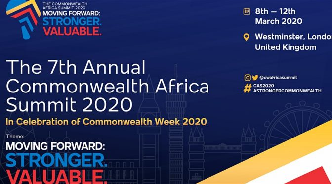 Free Conference in London, March 2020, 7th Commonwealth Africa Summit